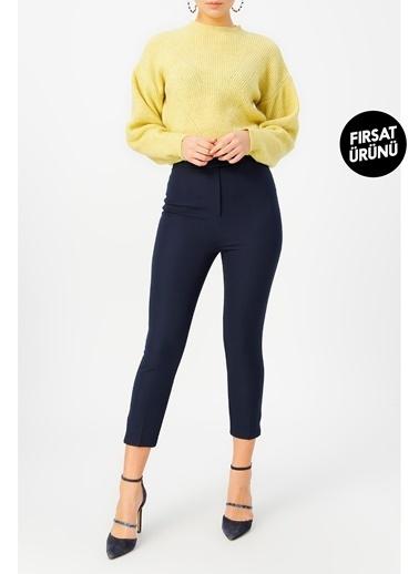 Random Kadın Klasik Kesim Pantolon Lacivert